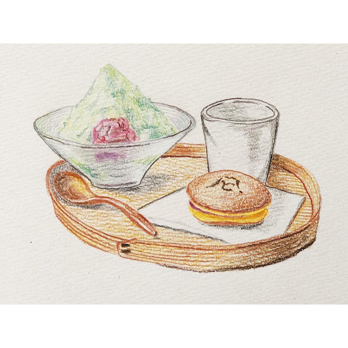 フードイラスト描きます カフェのメニューやポップに絵を掲載してみませんか?