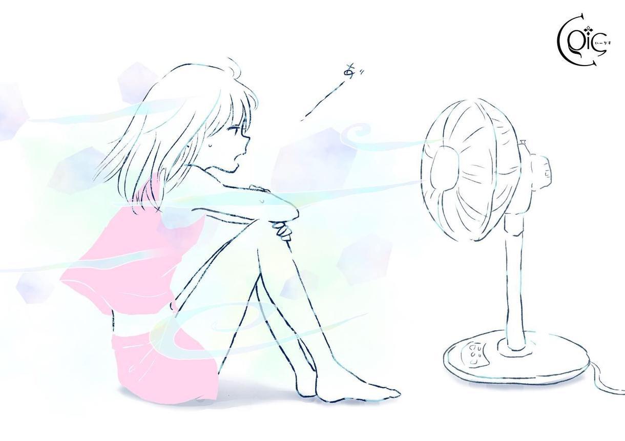 横顔✩.*˚温かみのあるデジタルイラスト描きます 伝えたいことや表現したいことなどを作品の中に込めます✩.*˚ イメージ1