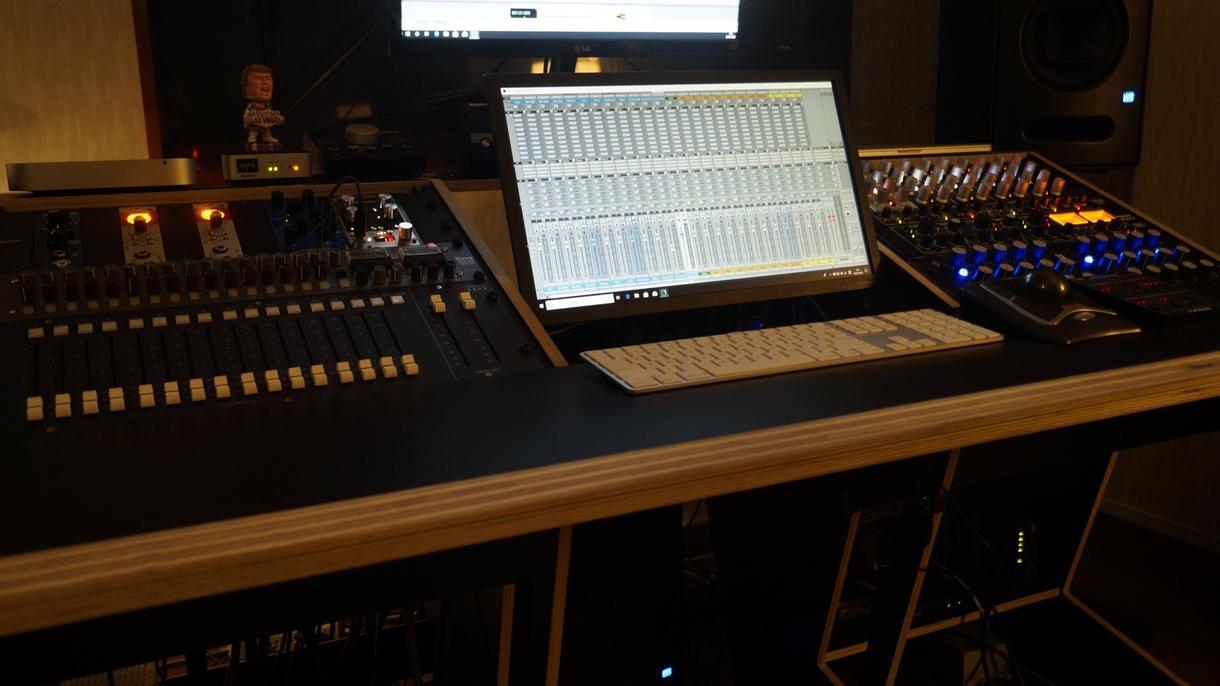 ハイブリッド環境にて音源ミキシングをします オンラインミキシングを2万円からご提供 イメージ1