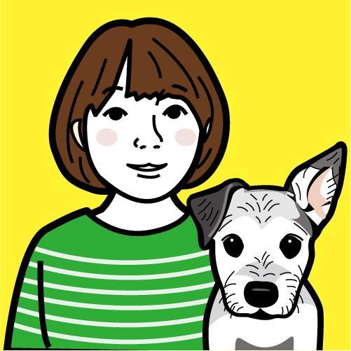 シンプルなタッチでペットとあなたの似顔絵描きます プレゼントや記念におススメ!かわいいペットをご一緒に!