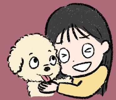 あなたと大切なペットをほんわかタッチでお描きします ペット用のSNSプロフィール画像をほんわか癒されるイラストに イメージ1