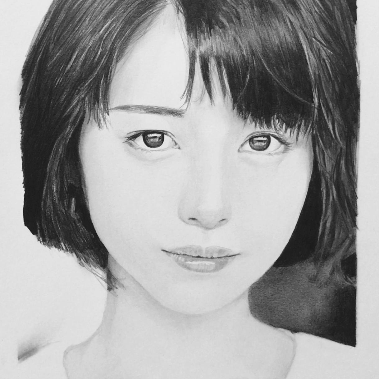 リアルな鉛筆画描きます 思い出の写真やペットなどの鉛筆画を制作致します。 イメージ1