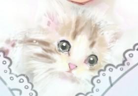 猫ちゃんわんちゃんのイラスト描きます 大切な家族のイラストがほしい方