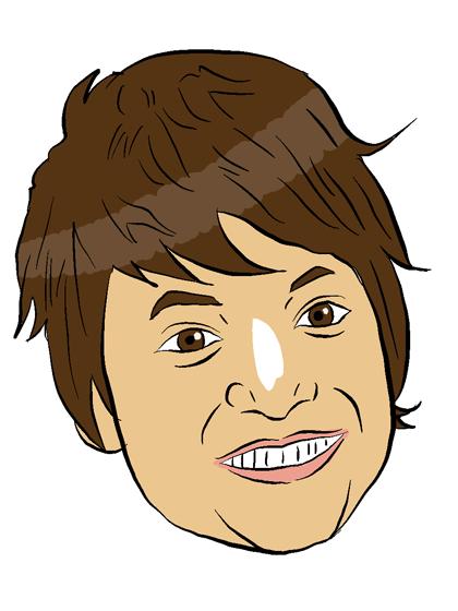 シンプルな似顔絵アイコン描きますます SNSのアイコンや名刺に最適です