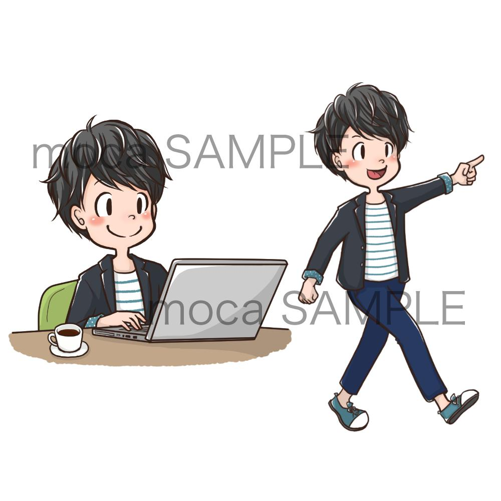 個人・商用可★イラスト制作致します ブログやSNSアイコン、ホームページの挿絵等にオススメです。