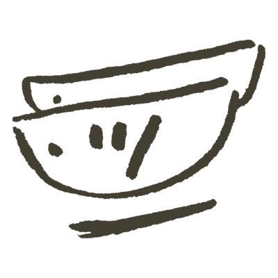 鉛筆手書きイラスト描きます ゆるい・かわいい鉛筆描きのイラスト描きます イメージ1