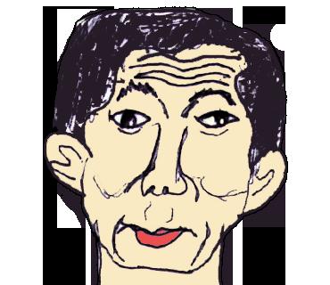 個性的な似顔絵を描きます 似てるか似てないか・でもなんだか味のある・・似顔絵
