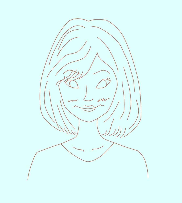 【あったかい似顔絵描きます】ウェルカムボード・SNS画像・ポストカード作成などに。