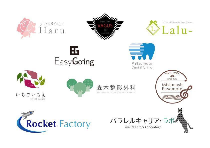 ロゴ、お試し期間2000円で作ります シンプルなのに魅力的なロゴを作りたい方へ