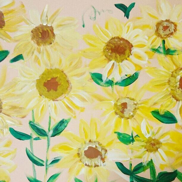 季節のお花やフルーツのイラストかきます 可愛いお花やフルーツ描きます。