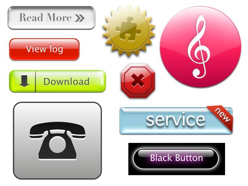 【複数・短期納品 相談OK】WEBサイト用ボタン画像を作成します。 イメージ1