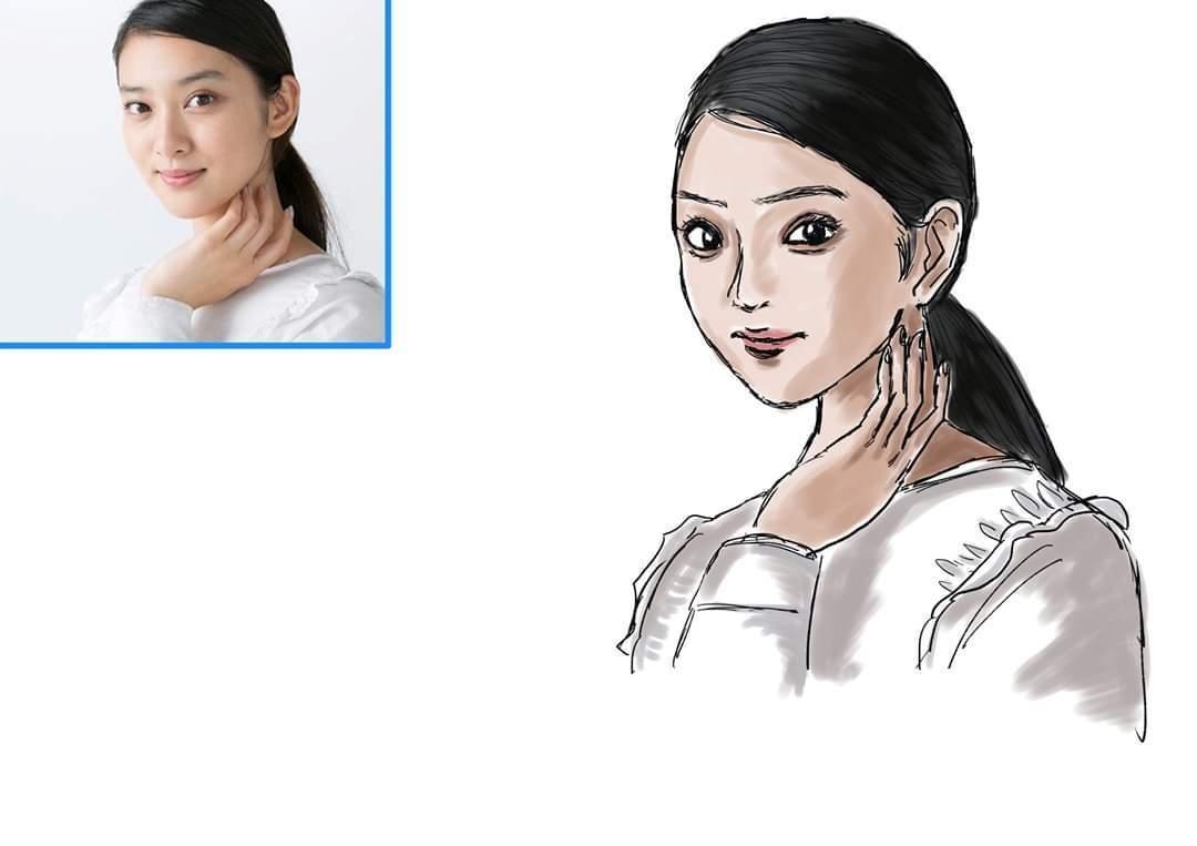 似顔絵イラスト描きます サンプル画のような似顔絵を描きます。