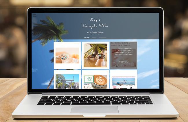 WixでおしゃれなWEBサイト作ります 納品後は簡単に自分で運用できる、あなただけのWEBサイト イメージ1