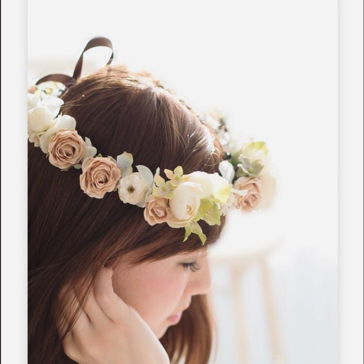 あなたにぴったりのオリジナル花冠を作ります 400名の花嫁さまがオーダー!世界一可愛い花嫁になるお手伝い