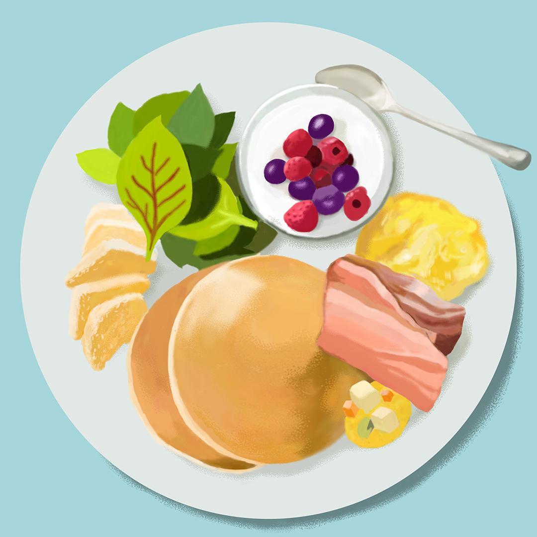 料理のイラスト描きます レシピや挿絵にいかがででしょうか? イメージ1