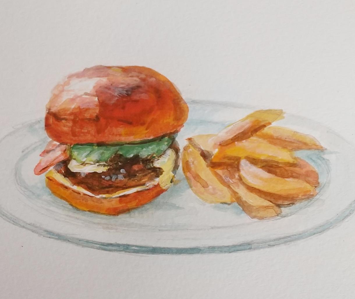 食品イラストや、メニュー、看板デザインなど承ります 芸確かな画力で素敵なイラスト、デザインをご提供します。 イメージ1