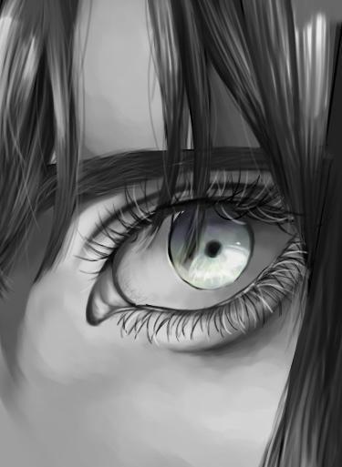 あなたの「目元」の絵を描きます 現役芸大生があなたの目元のイラストを描きます。