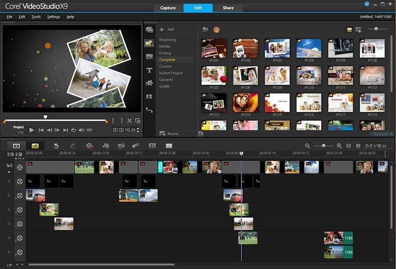 動画作成、編集を行います プロさながらの動画作成が可能! イメージ1