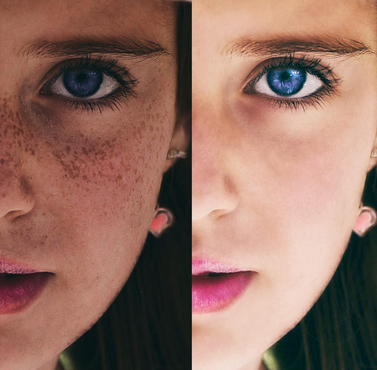 美肌レタッチ!あなたのお写真を美しく仕上げます 肌の質感に自信あり!あなたの魅力をもっと引き出しませんか?