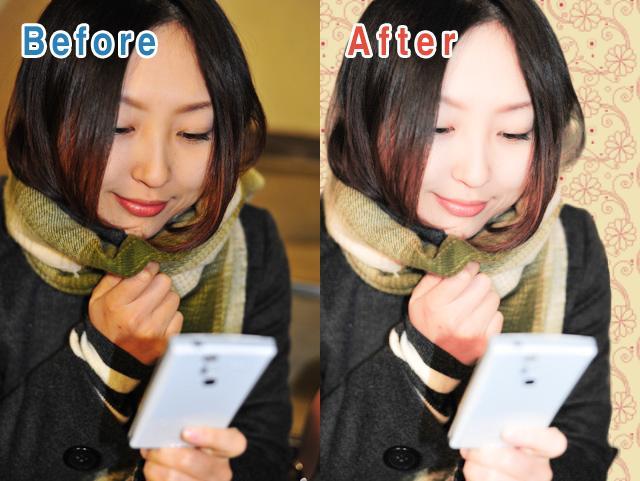 写真のレタッチ・切り抜き・加工を致します Photoshopを使った高品質加工!顔写真のホクロ除去も!
