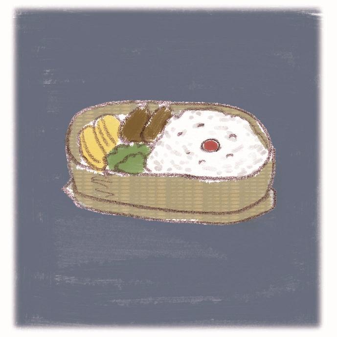 *手描き風 料理イラスト描きます*