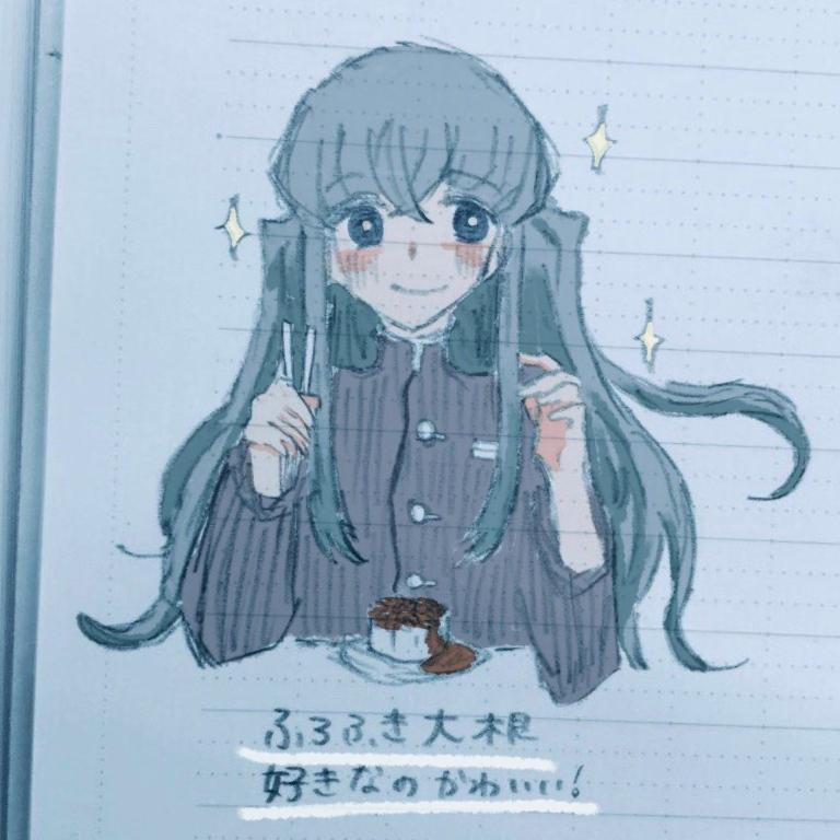 SNS等用のアイコン描きます パステルカラーメイン単色の女の子がメインです