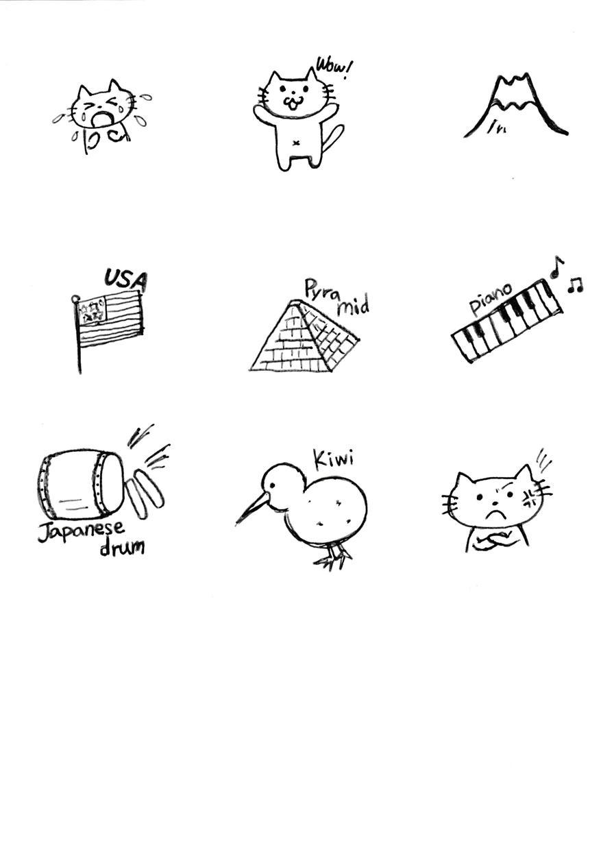 可愛い絵や文字などのロゴ作ります!