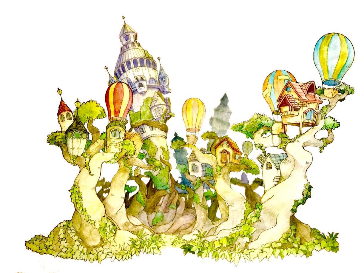 あなただけのオリジナル世界をお描きします あなただけの特別な世界を絵に!