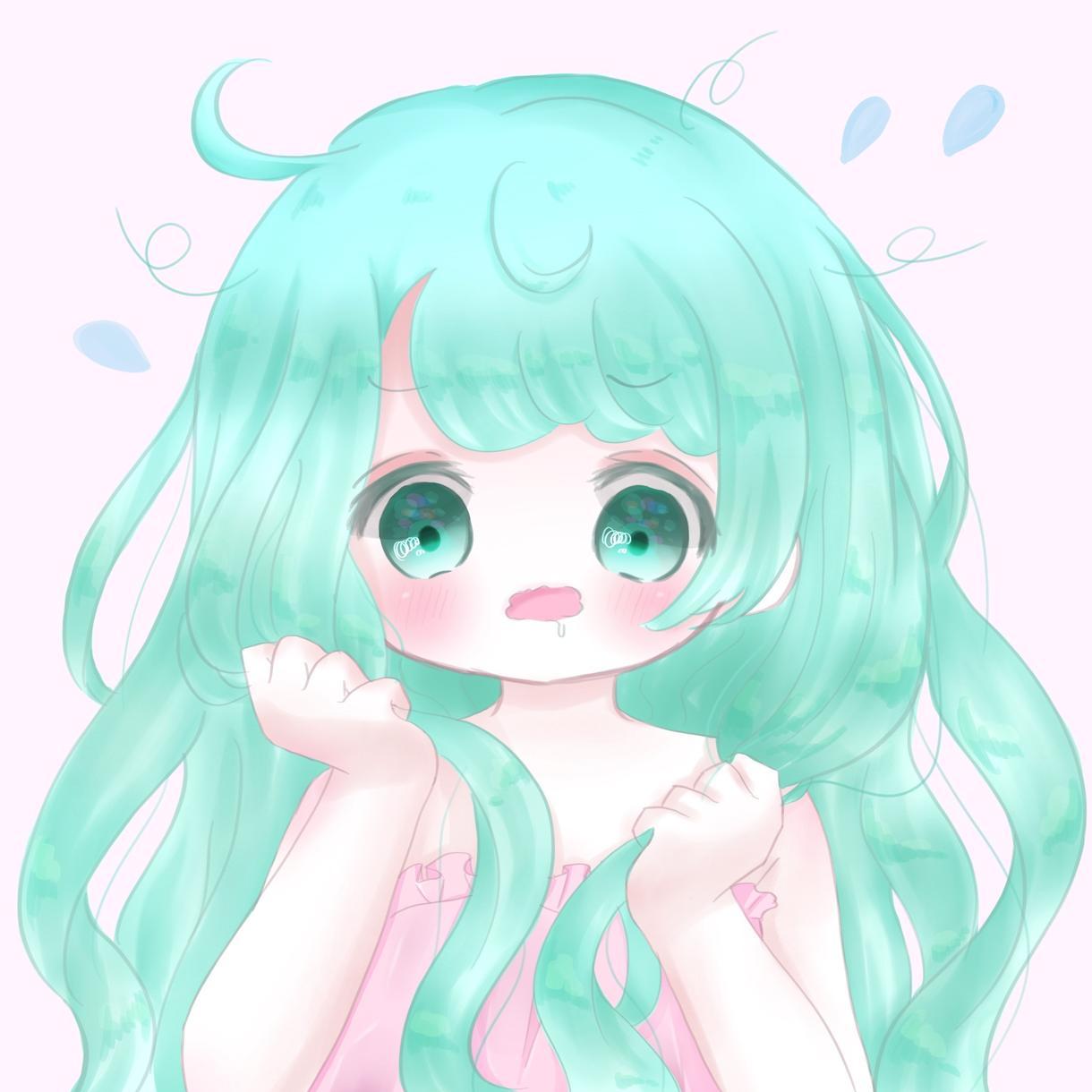 ゆるふわかわいい女の子お描きします SNSのアイコンなどに使えます!!