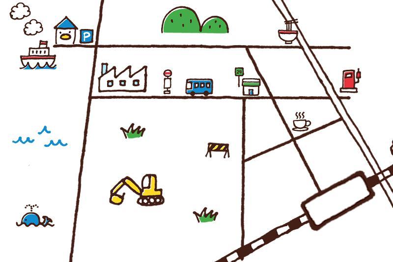 大好評!!とーっても可愛い地図つくります お試し版♡可愛いは正義♡~お客様専用のとっておきの地図~ イメージ1