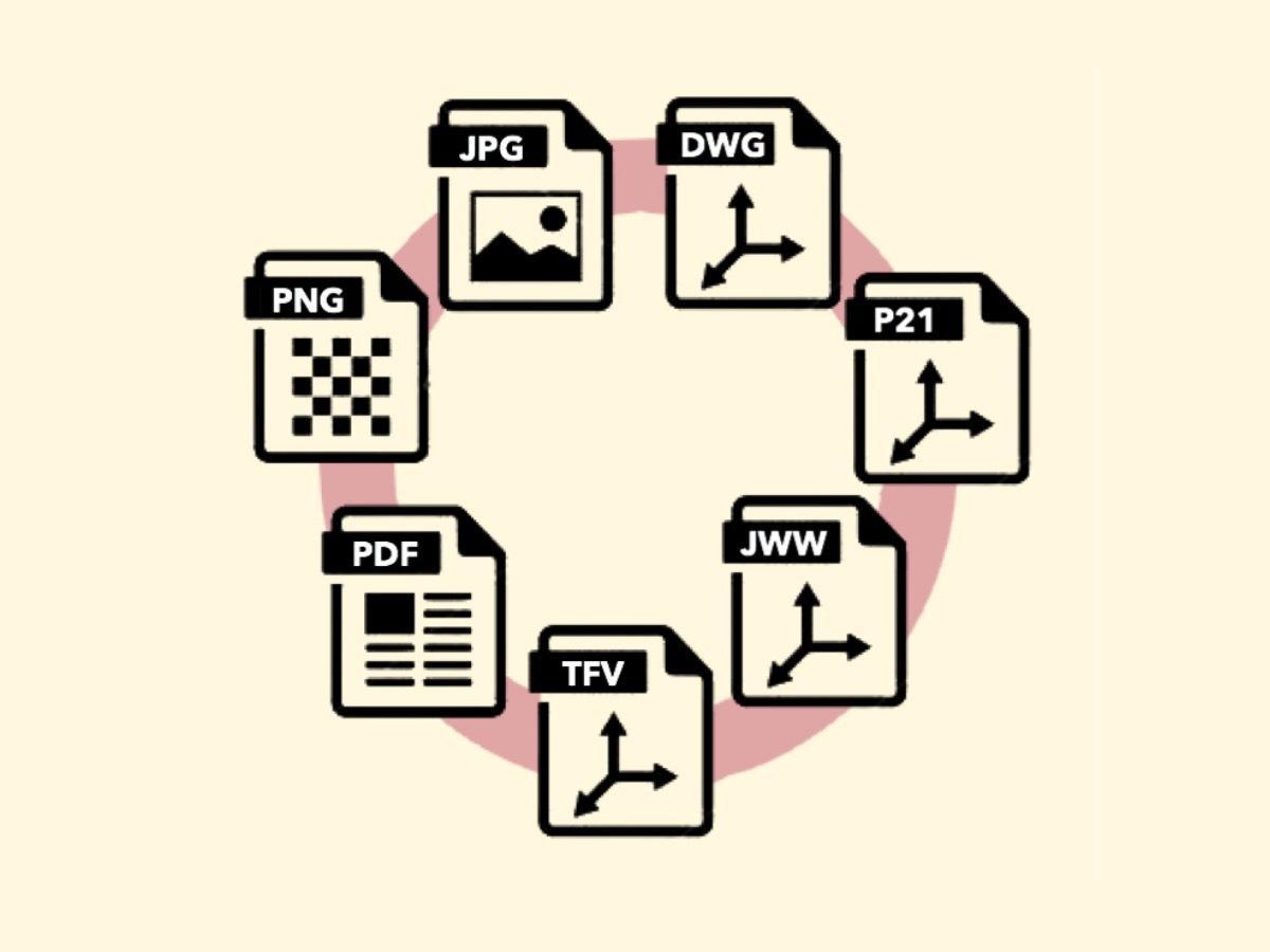 CADデータをご希望のファイル形式に変換します 〜 CADデータが見れない方へ 〜