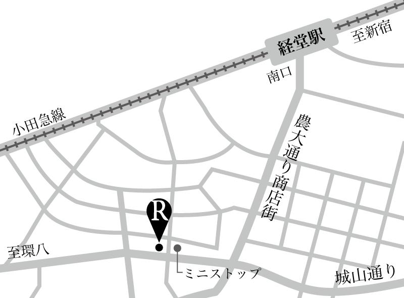 広告・サイト掲載用地図作成します 実務経験多数!わかりやすい地図を作成します。