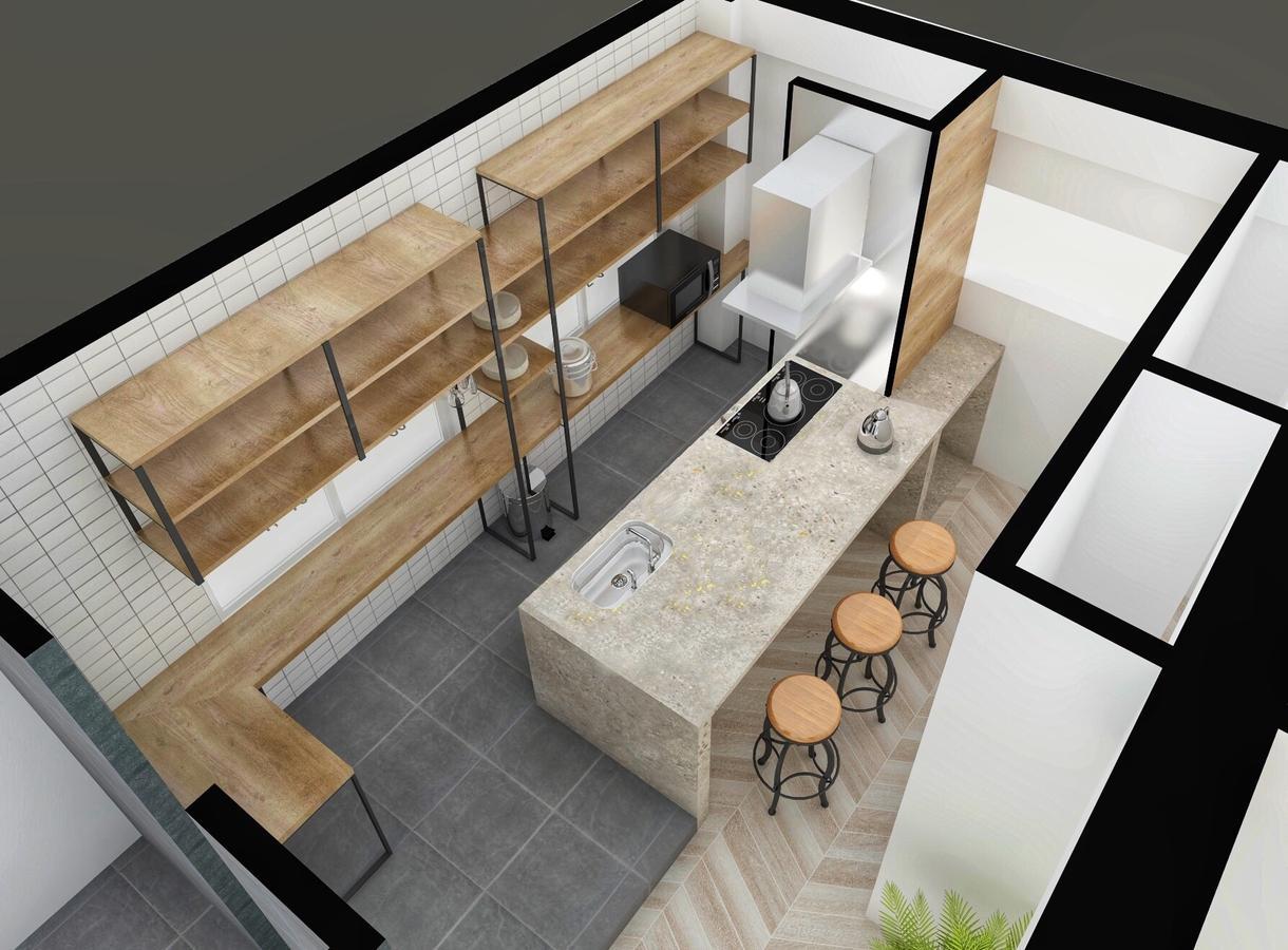 建築士が模型のようなパースを制作します 全体が見渡せるポップな鳥瞰図パース イメージ1