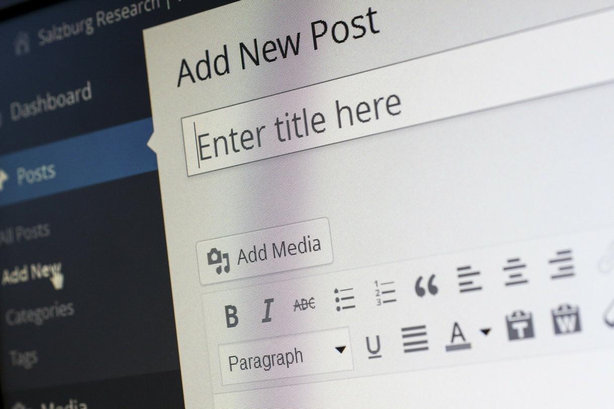 WordPressでブログを開設します これから新しくブログを始めたい方へ
