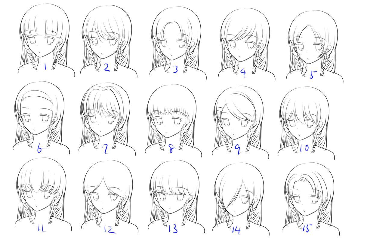 髪形等一緒に決めながら0から女の子の立ち絵描きます オリジナルキャラの絵がほしいけど外見が何も決まっていない方へ