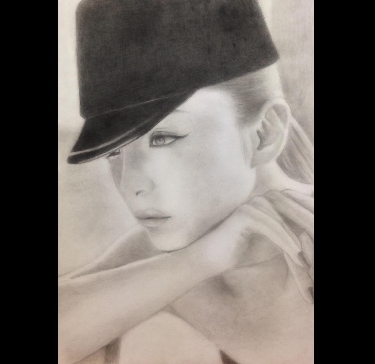 リアルな鉛筆画のイラスト描き方教えます 肖像画、似顔絵など描きたい方、なんでもご相談ください!