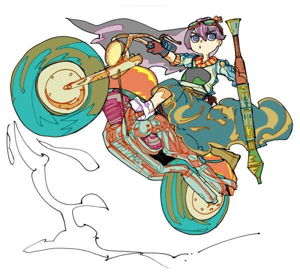 ちょっと変わった色彩イラスト作成承ります あなたが欲しいそのイラストにアクセントを加えてみませんか?