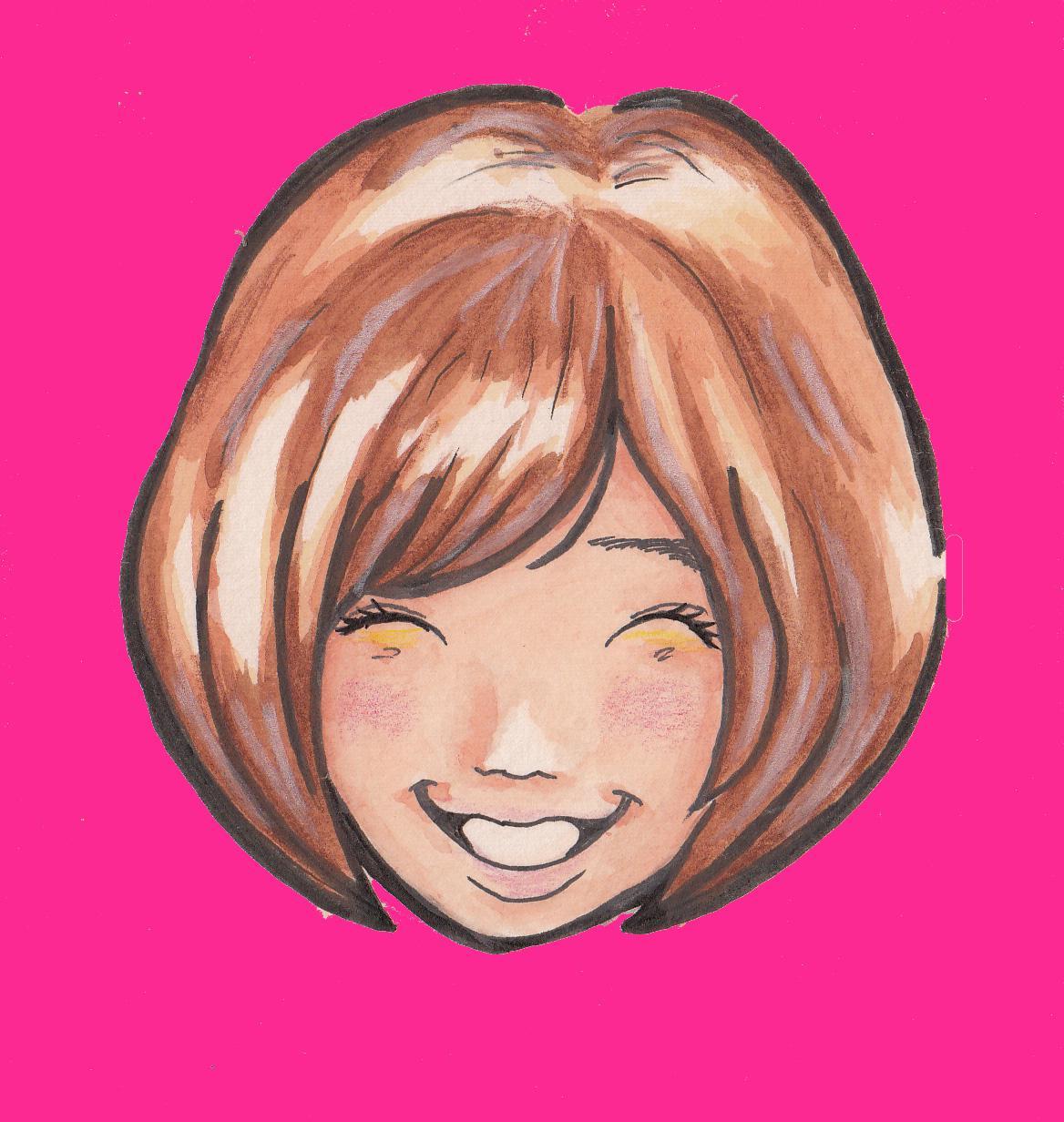 可愛らしい似顔絵をを作成します。アナログ着色データ納品