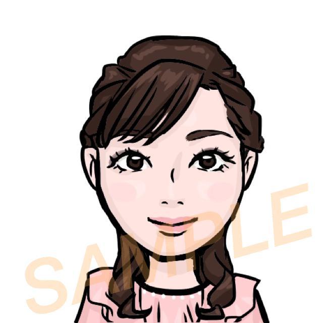 似てる!と言われる似顔絵を描きます プロフィール画像や名刺などで自分をアピールしませんか?
