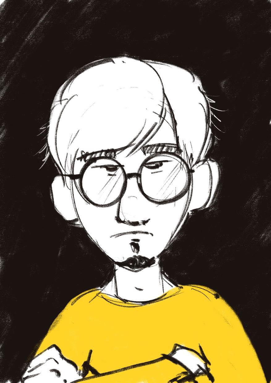 似顔絵、イラストをご希望に合わせて描きます 出来る限り頑張ります。仕事くれると喜びます。