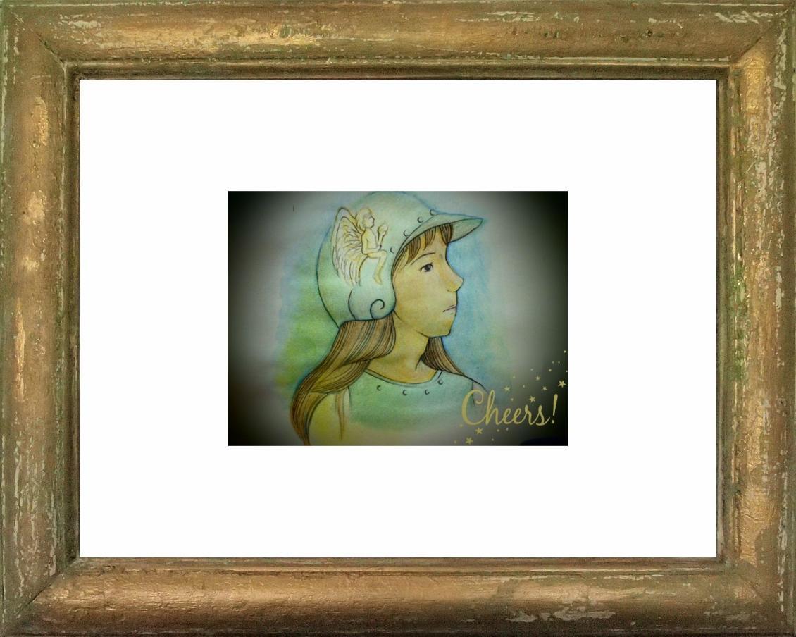 天使の言葉と絵 Angel art