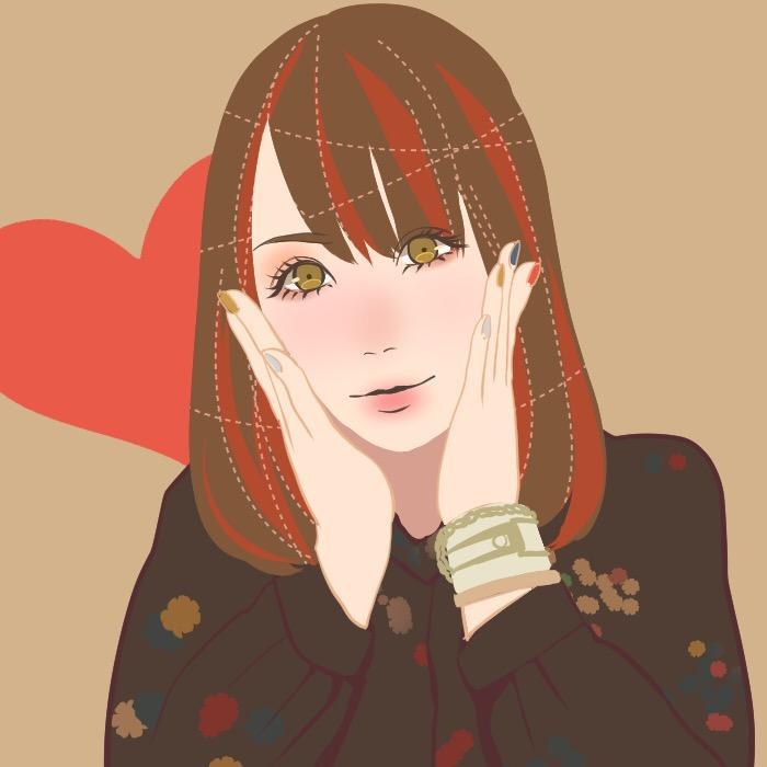 アイコン用おしゃかわ似顔絵を描きます かわいい似顔絵をお求めのあなたへ!