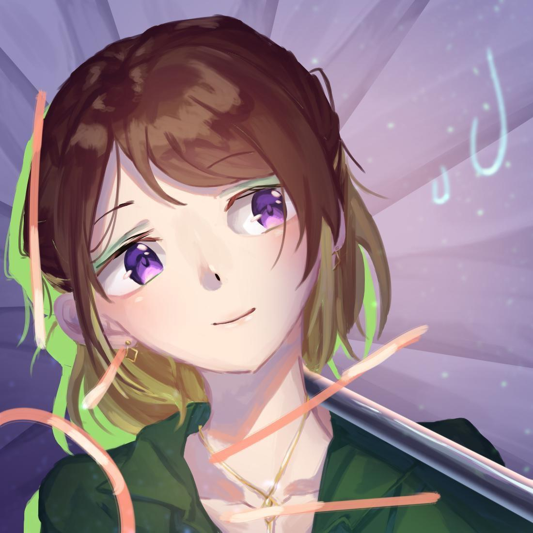 SNS用のアイコンイラストを描かせていただきます 可愛い女の子を描くのが好きです!