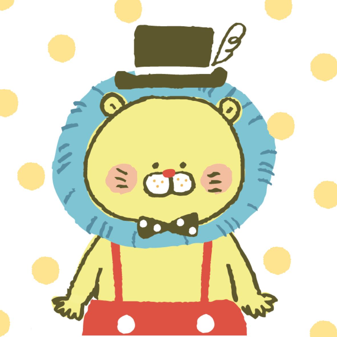 キャラクターデザイン、イラスト描きます SNSアイコンやお店のイメージキャラクターなどお気軽に!