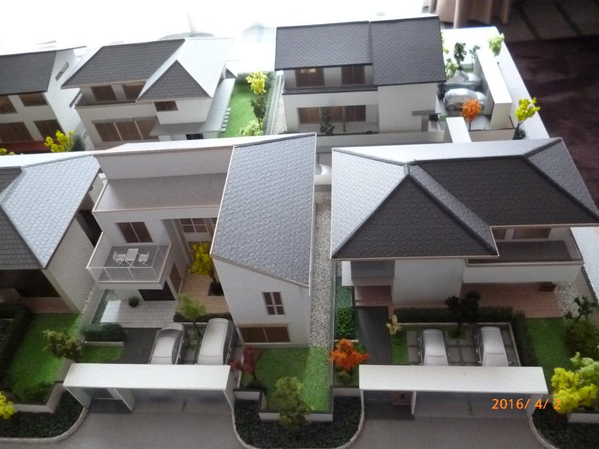 建築模型を作成します マイホームの新築記念や思いの詰まった家を形にしませんか?