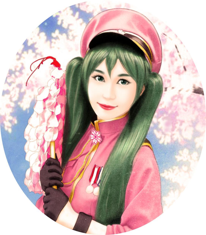 顔写真で初音ミク千本桜同人イラストに変身します 初音ミク,千本桜,二次元,コスプレ好きなあなたへ