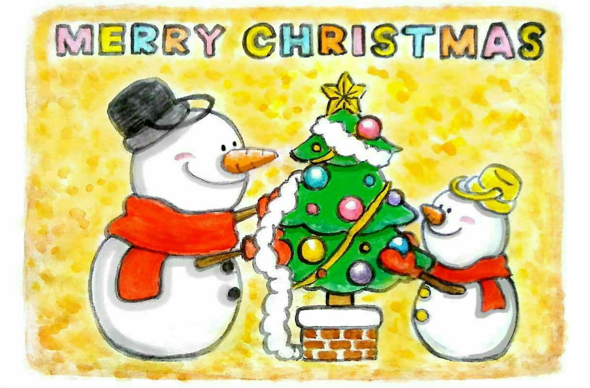 クリスマスカード作ります 大切な人へのプレゼントにどうぞ