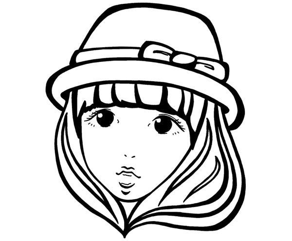 カワイイ似顔絵を線画のみ描きます 線画のみで良い・安く仕上げたい・早く欲しい方にお勧めです