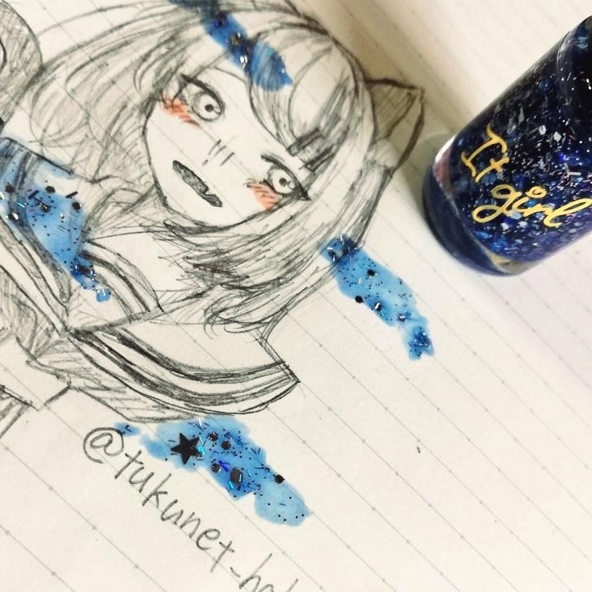 最短1日!1500円~アナログイラスト描きます 個性のある可愛いアナログイラストを提供☆。:*
