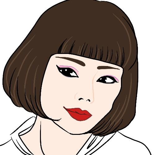 お写真を元に簡易似顔絵を描きます SNSでさり気なく自己アピール★プレゼントにも!